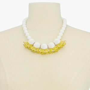 ♠KATE SPADE♠NWTGold-Tone Bead Statement Necklace